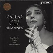 Click here for more info about 'Maria Callas - Portrays Verdi Heroines - 1st'
