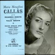 Click here for more info about 'Maria Callas - Puccini Operatic Arias'