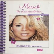 Click here for more info about 'Mariah Carey - 2003 European Tour Itinerary'