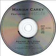 Click here for more info about 'Mariah Carey - Against All Odds'