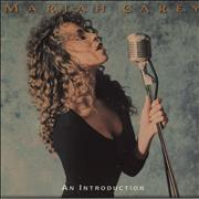Mariah Carey An Introduction UK CD single Promo