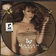 Mariah Carey Butterfly UK picture disc LP