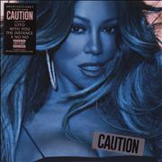Click here for more info about 'Mariah Carey - Caution - 150 Gram'