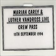 Click here for more info about 'Mariah Carey - Crew Pass'