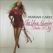 Mariah Carey Get Your Number / Shake It Off UK 2-CD single set