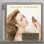 Mariah Carey Greatest Hits Australia 2-CD album set