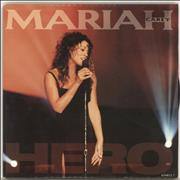 "Mariah Carey Hero UK 7"" vinyl"