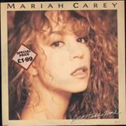 "Mariah Carey Love Takes Time - EX UK 12"" vinyl"