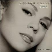 Mariah Carey Music Box Netherlands vinyl LP