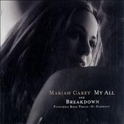 Click here for more info about 'Mariah Carey - My All'