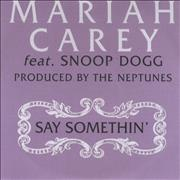 Click here for more info about 'Mariah Carey - Say Somethin' - 4-track'