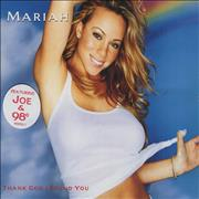 Mariah Carey Thank God I Found You - Stickered UK CD single