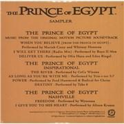 Mariah Carey The Prince Of Egypt Sampler - Sealed UK CD album Promo