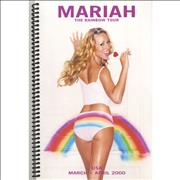 Click here for more info about 'Mariah Carey - The Rainbow Tour - USA Itinery'