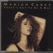 Mariah Carey There's Got To Be A Way UK CD single