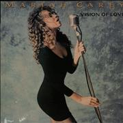 "Mariah Carey Vision Of Love - EX UK 12"" vinyl"