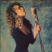 "Mariah Carey Vision Of Love UK 7"" vinyl"
