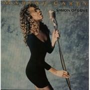 """Mariah Carey Vision Of Love UK 12"""" vinyl"""
