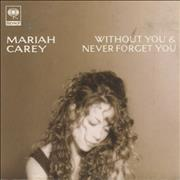 Click here for more info about 'Mariah Carey - Without You - Snapped Pack'