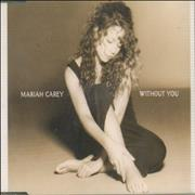 Click here for more info about 'Mariah Carey - Without You - White Bordered Sleeve'