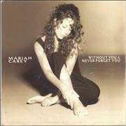 "Mariah Carey Without You UK 7"" vinyl"