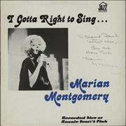 Click here for more info about 'Marian Montgomery - I Gotta Right To Sing: Recorded Live At Ronnie Scott's Club - Autograph'
