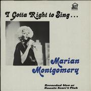 Click here for more info about 'Marian Montgomery - I Gotta Right To Sing: Recorded Live At Ronnie Scott's Club'