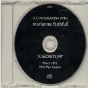 Click here for more info about 'Marianne Faithfull - A Conversation With - A Secret Life'
