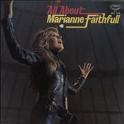 Click here for more info about 'Marianne Faithfull - All About Marianne Faithfull - VG'