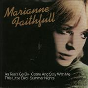 Click here for more info about 'Marianne Faithfull - As Tears Go By + Sleeve'