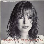 Click here for more info about 'Marianne Faithfull - Dangerous Acquaintances'