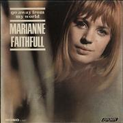 Click here for more info about 'Marianne Faithfull - Go Away From My World - Mono'