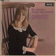 Click here for more info about 'Marianne Faithfull - Go Away From My World EP - WOL'