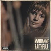 Click here for more info about 'Marianne Faithfull - Marianne Faithfull - 1st - VG+'