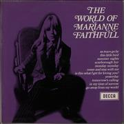 Click here for more info about 'Marianne Faithfull - The World Of Marianne Faithfull - EX'