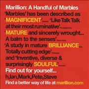 Click here for more info about 'Marillion - A Handful Of Marbles'