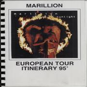 Click here for more info about 'Marillion - Afraid Of Sunlight - European Tour'