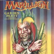 Click here for more info about 'Marillion - Garden Party - 4-prong + P/S'