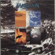 Click here for more info about 'Marillion - Seasons End - Promo Stickered'