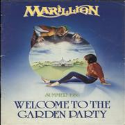 Click here for more info about 'Marillion - Summer 1986 - Welcome To The Garden Party'