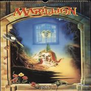 Click here for more info about 'Marillion - The Official 1987 Calendar - Autographed'