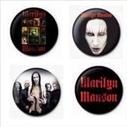 Click here for more info about 'Marilyn Manson - Badge Set'