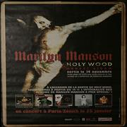 Click here for more info about 'Marilyn Manson - Holy Wood Album Store / Tour Poster'