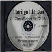 Click here for more info about 'Marilyn Manson - The Nobodies'