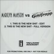 Click here for more info about 'Marilyn Manson - This Is The new *hit - Goldfrapp'