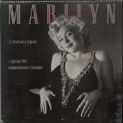 Click here for more info about 'Marilyn Monroe Calendar Publicity Photo Portraits 1997 Commemorative Edition - Sealed'