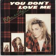 Click here for more info about 'Marilyn - You Don't Love Me - Solid'