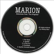 Click here for more info about 'Marion - Selections From The Program'