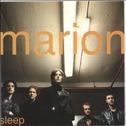 Click here for more info about 'Marion - Sleep - 2nd - Orange Vinyl + Numbered'