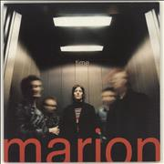 Click here for more info about 'Marion - Time - Red Vinyl + Numbered Sleeve'